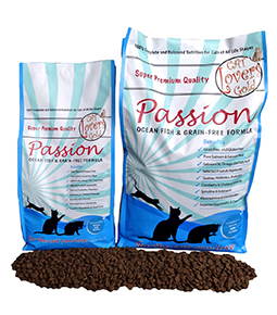 cat lovers gold passion fish & grain free 5 kg