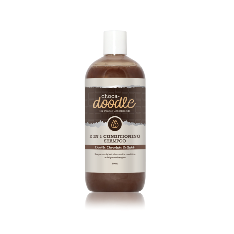 choca-doodle 2-1 shampoo en conditioner 250 ml