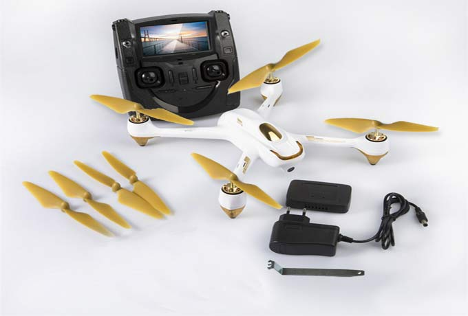 Hubsan X4 brushless FPV Quadcopter H501S  WIT