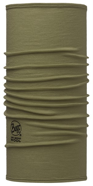 113024850 Slim Fit Merino Wool BUFF® Solid Light Military