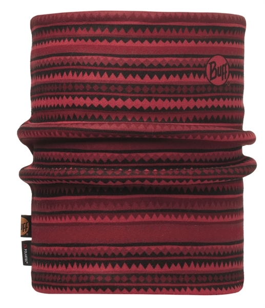 113147425 Reversible Polar Neckwarmer BUFF® Picus Red / Red