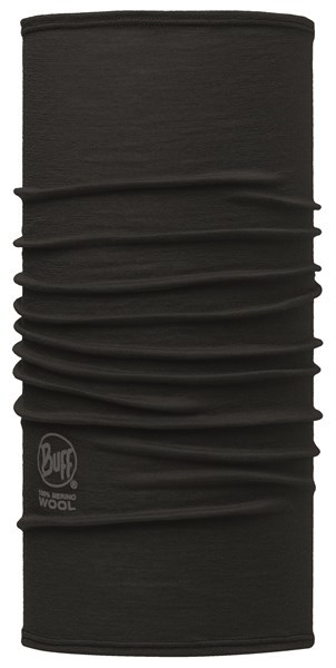 113024999 Slim Fit Merino Wool BUFF® Solid Black