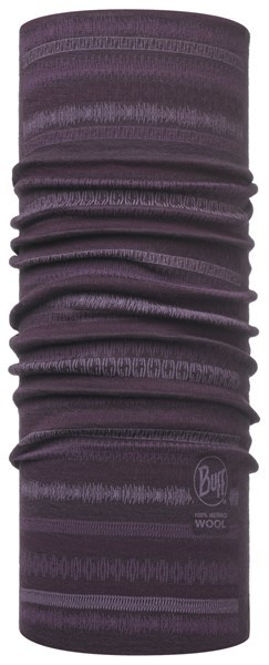 113252622 Slim Fit Merino Wool BUFF® Lisha Plum