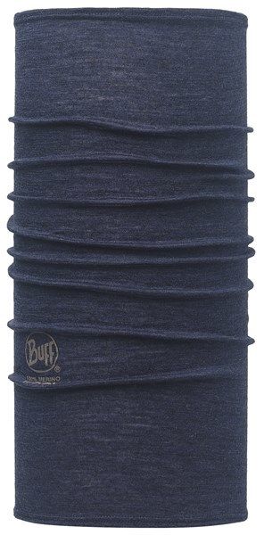 113024788 Slim Fit Merino Wool BUFF® Solid Denim
