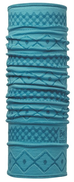 113259718 Merino Wool BUFF® Rhoda Blue Capri