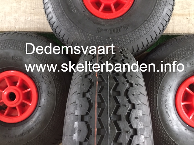 Set skelterwielen 4.00-4