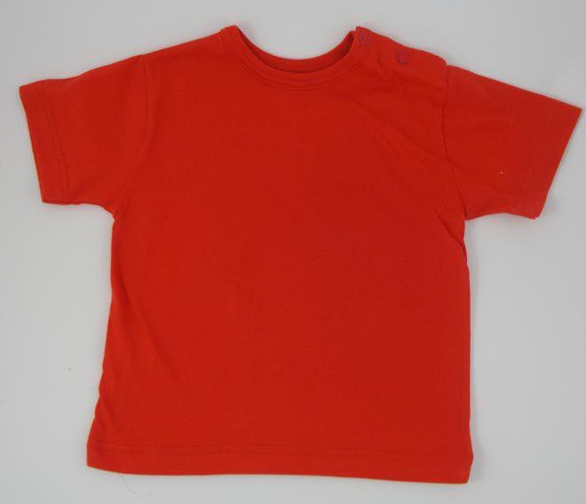 63b881adf4fb23 Baby T-Shirt kleur rood - Bijzonderkadootje