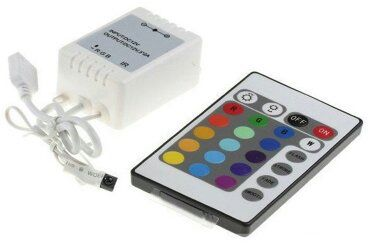 RGB LED Strip Afstandsbediening set € 16,95