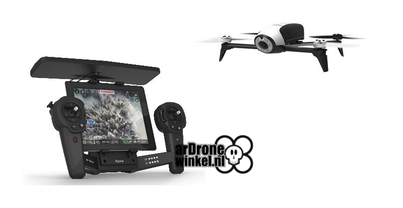 Parrot Bebop drone 2.0 Wit incl skycontroller PF726103AB