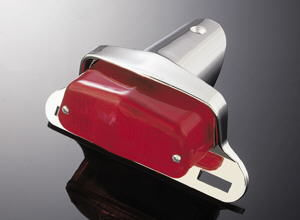 Highway Hawk taillight Lucas + bracket