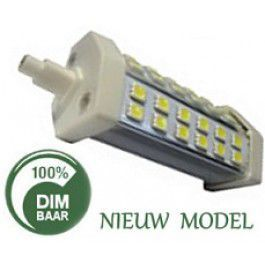 R7S LED - 118MM - 2700K - 8W - TE DIMMEN