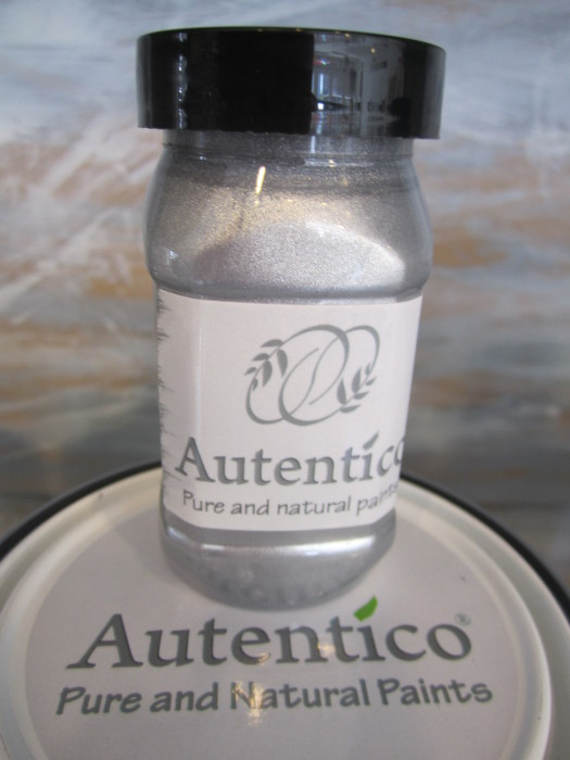 metallic silver 100ml