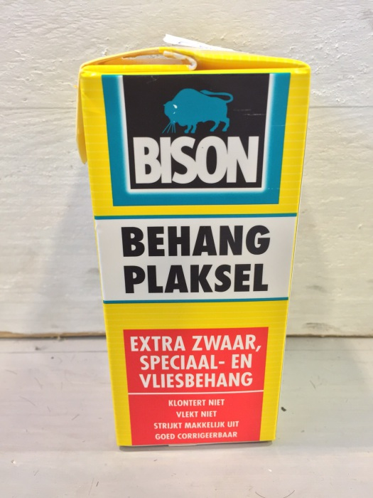 Bison behang plaksel