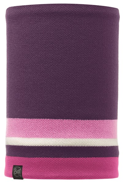 111041 Knitted And Polar Fleece Neckwarmer BUFF® Ovel Plum