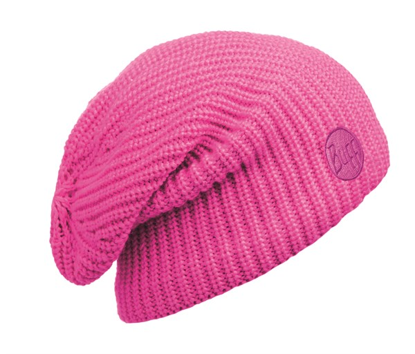 110981522 Knitted And Polar Hat BUFF® Drip Pink Fluor