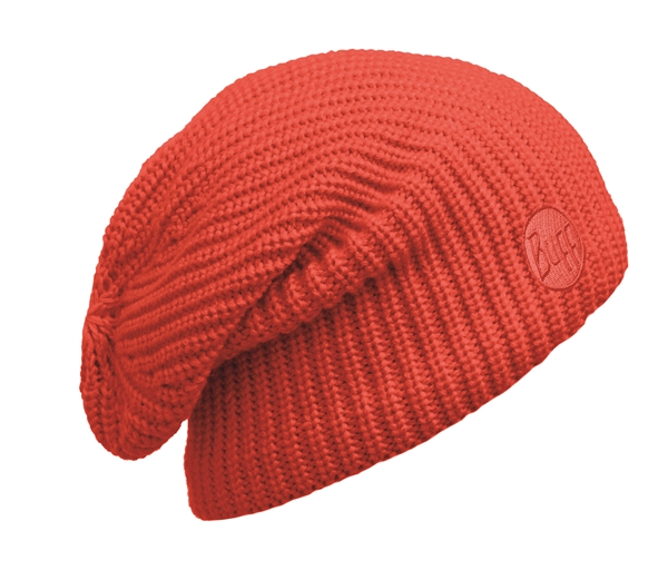 110981204 Knitted And Polar Hat BUFF® Drip Orange