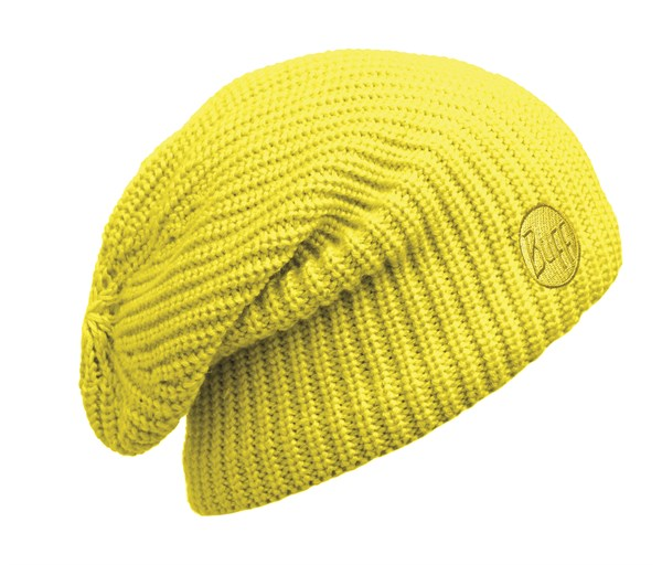 110981117 Knitted And Polar Hat BUFF® Drip Yellow Fluor