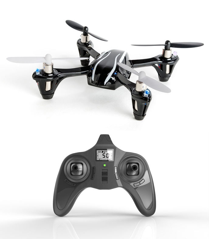 Hubsan MICRO DRONE X4 V2 met LED