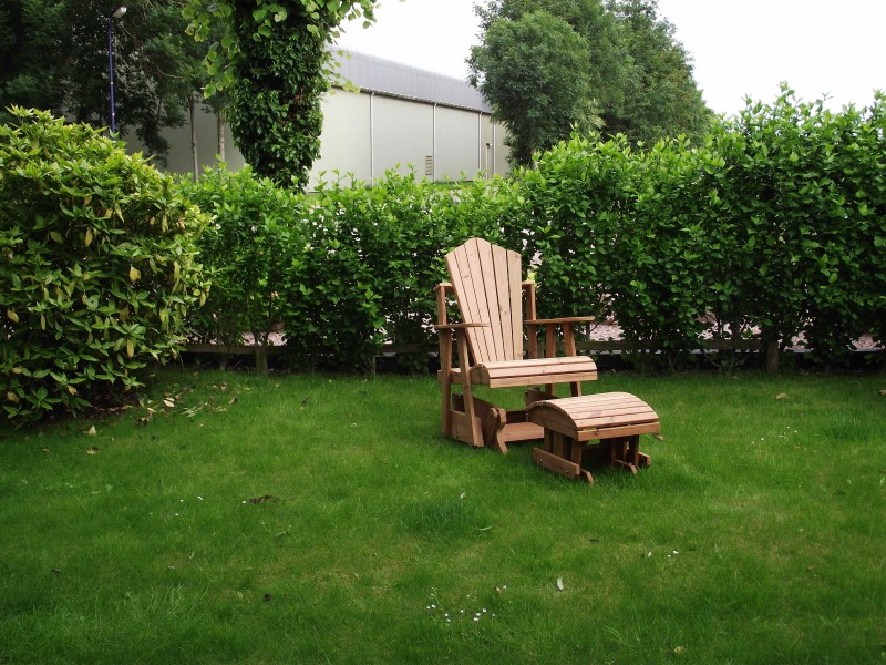 Amish houten Glider Chair