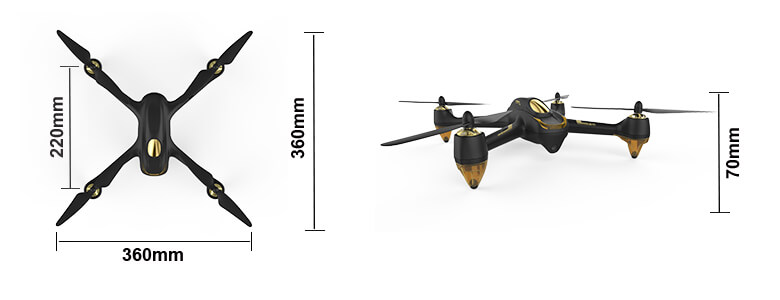 Hubsan X4 brushless FPV Quadcopter H501S #4